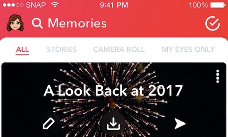 Snapchat ponúka retrospektívny pohľad na váš rok 2017