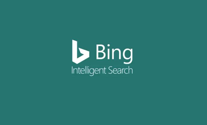 Bing AI search