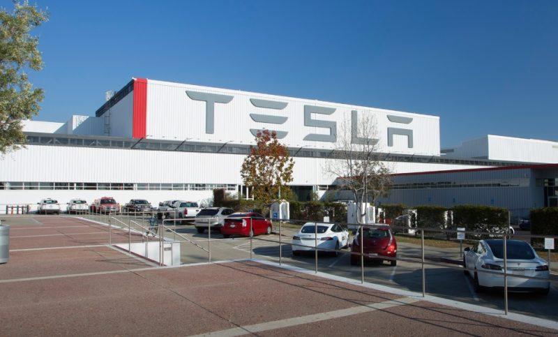 Americká fabrika Tesly