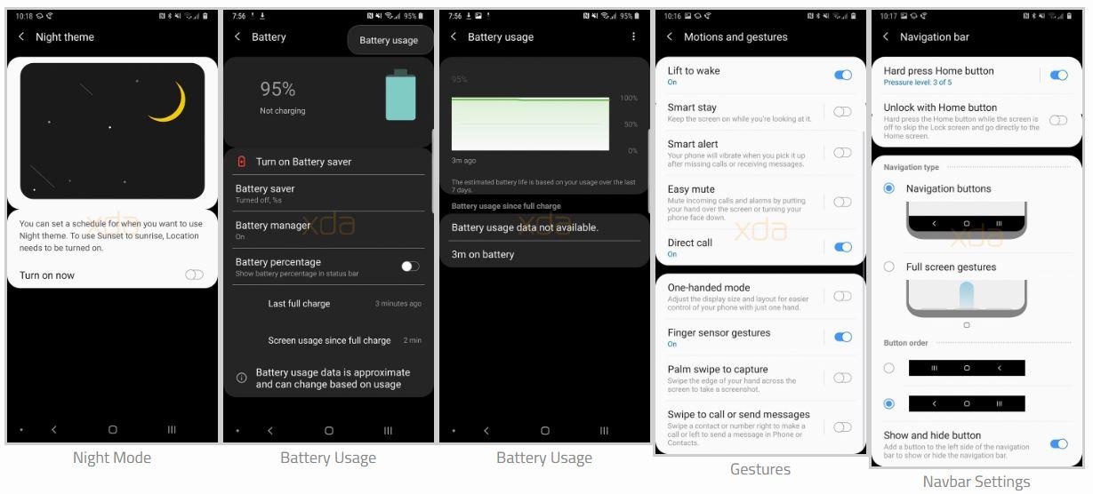 Samsung Experience 10 na Samsung Galaxy Note 9