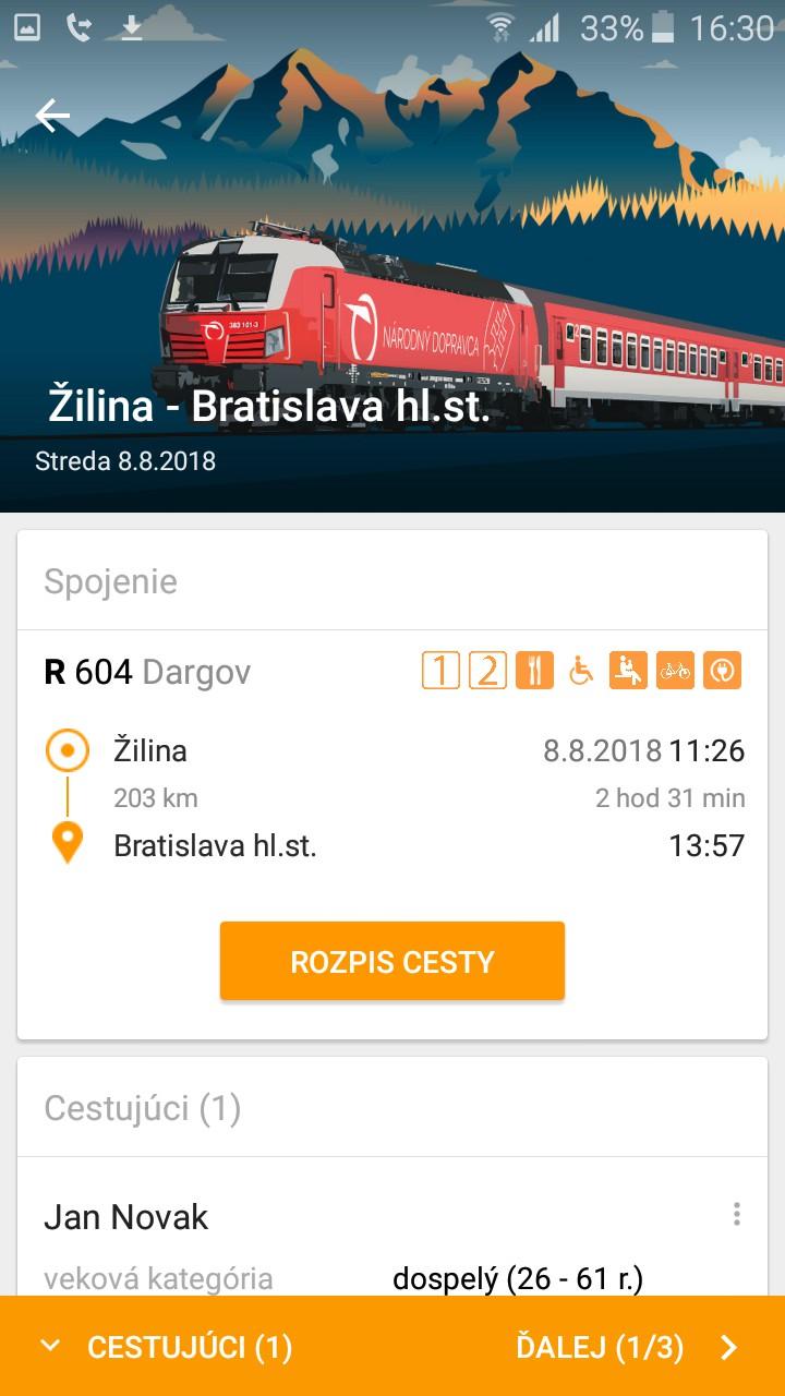 Ideme vlakom ZSSK