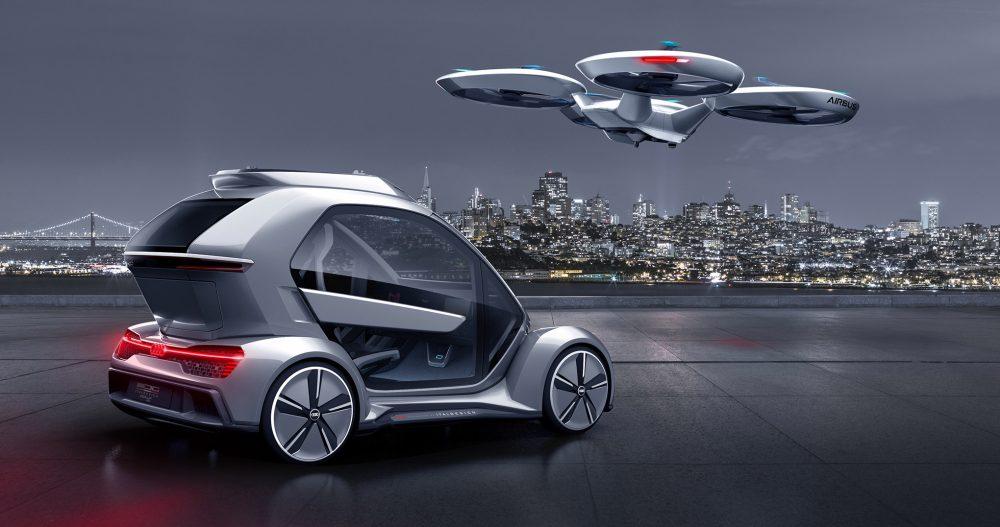 Lietajúci elektromobil od Audi
