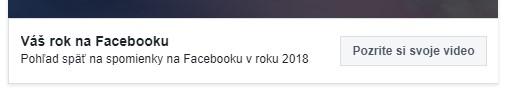 vas rok na facebooku