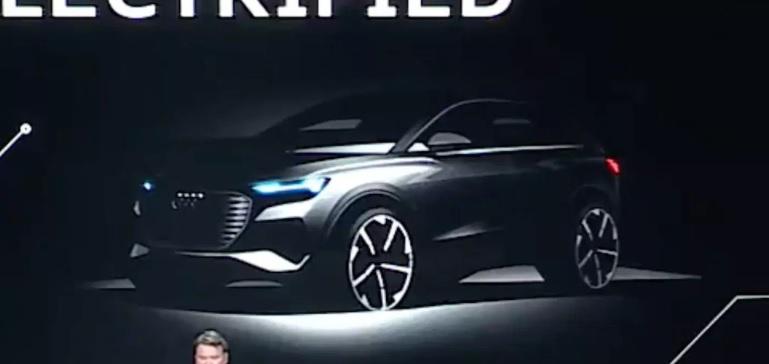 Avizovaný elektromobil od Audi