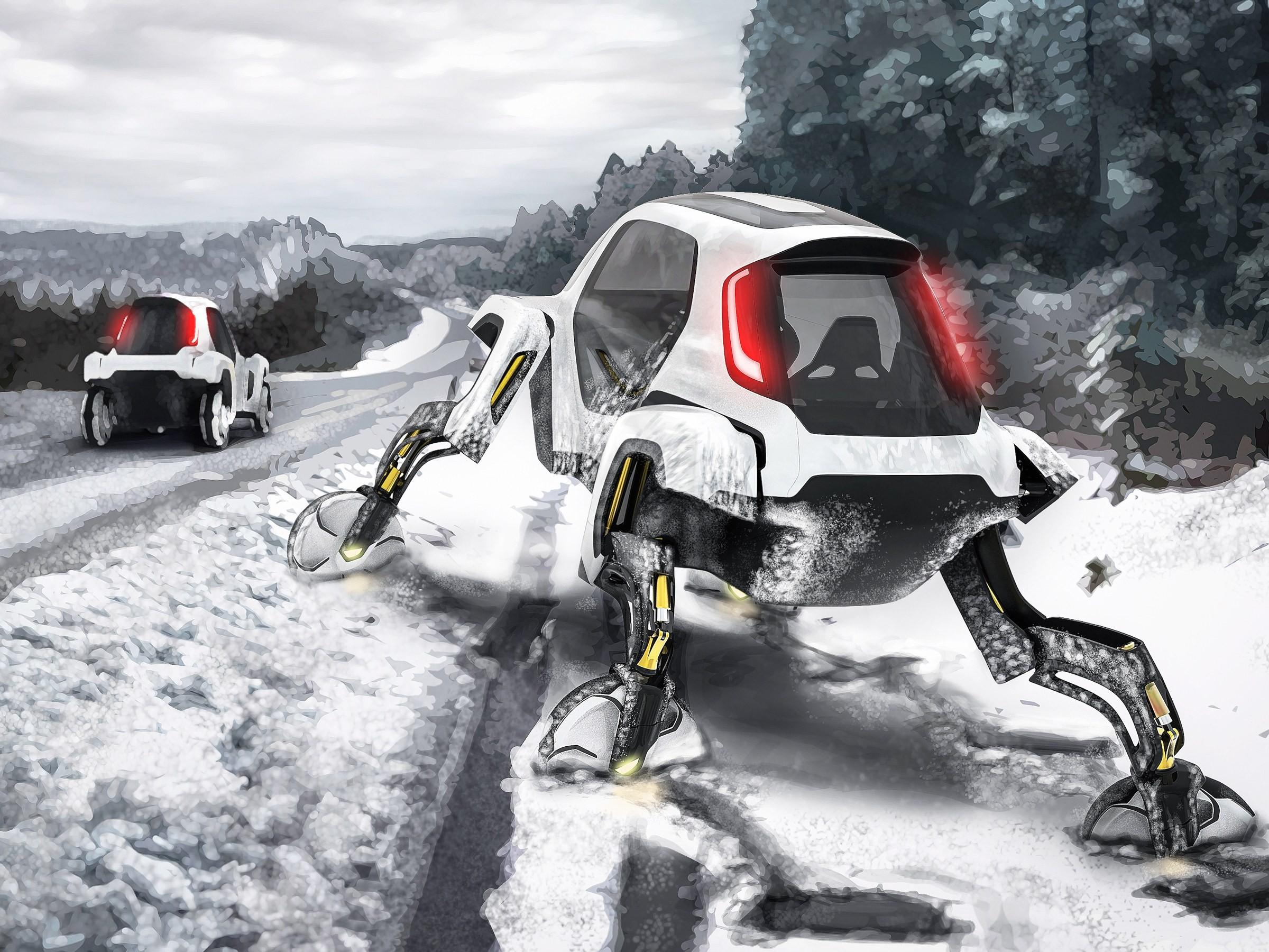 hyundai elevate roboticke nohy narocny tazky teren offroad