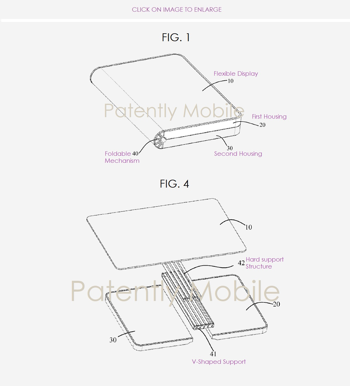 Náčrt z patentu Huawei