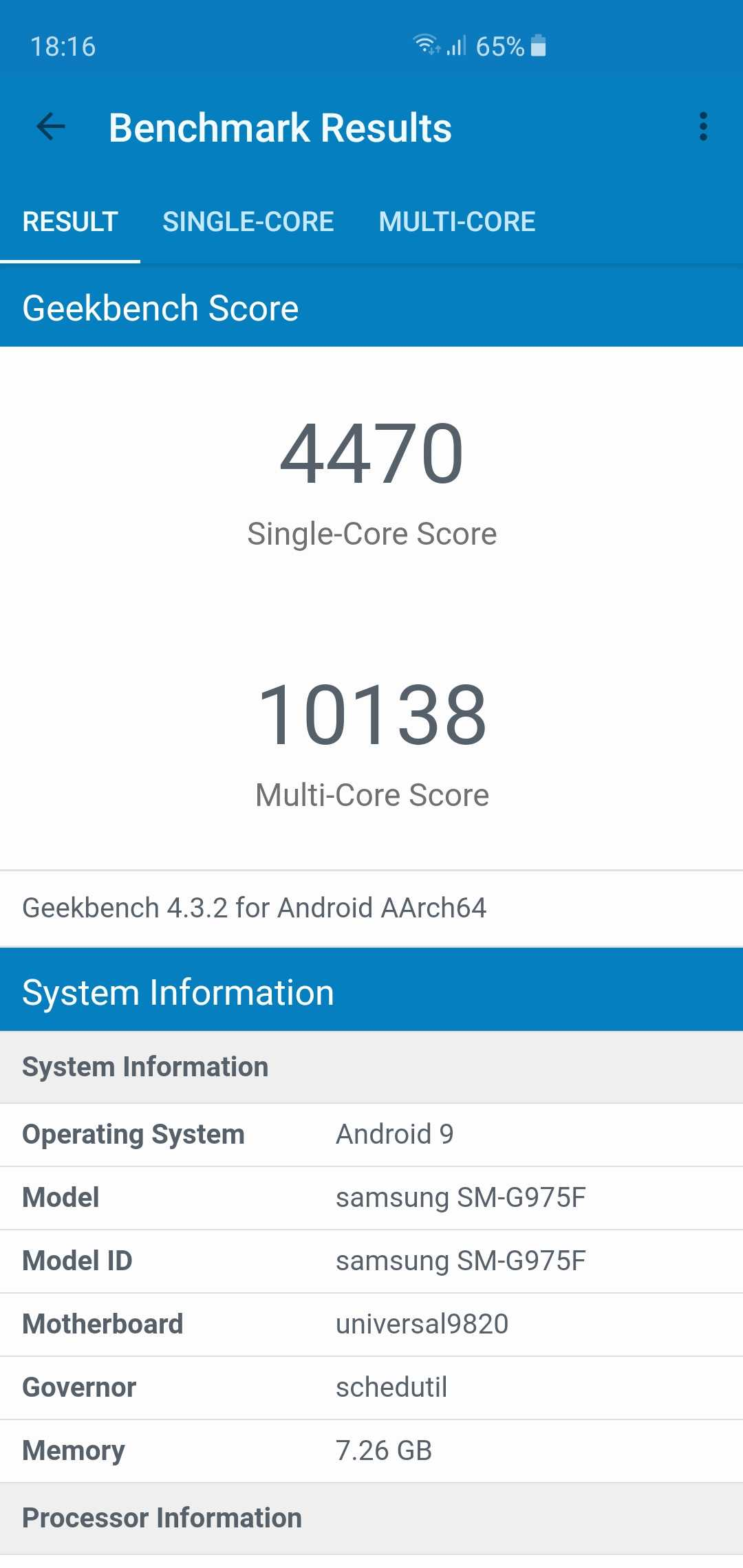 Screenshot 20190227 181633 Geekbench 4