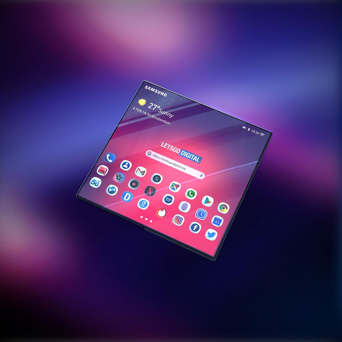 Čerstvý render Galaxy F