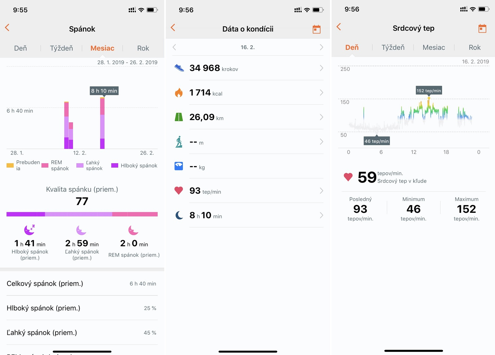 Aplikácia Huawei Health