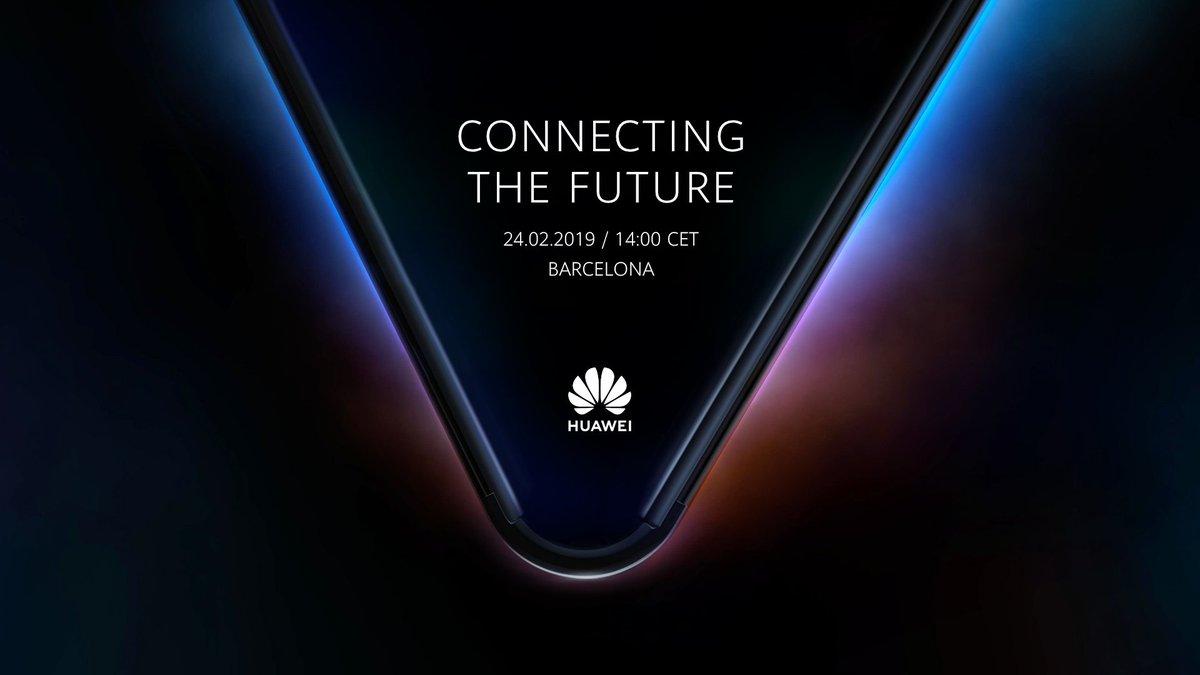 Skladací smartfón od Huawei na digitálnej pozvánke