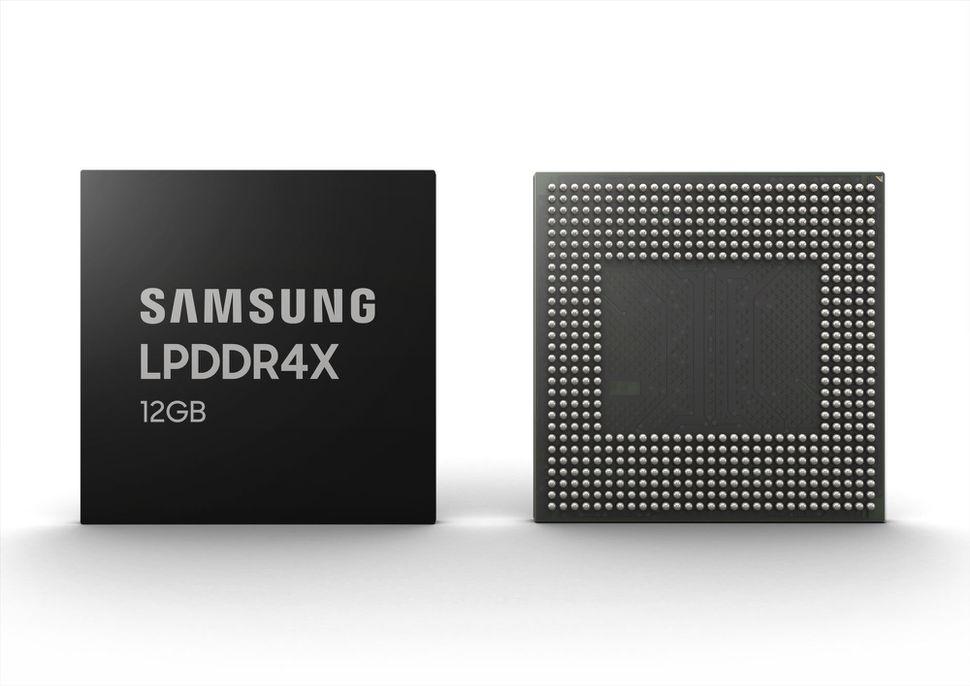 12GB LPDDR4X samsung