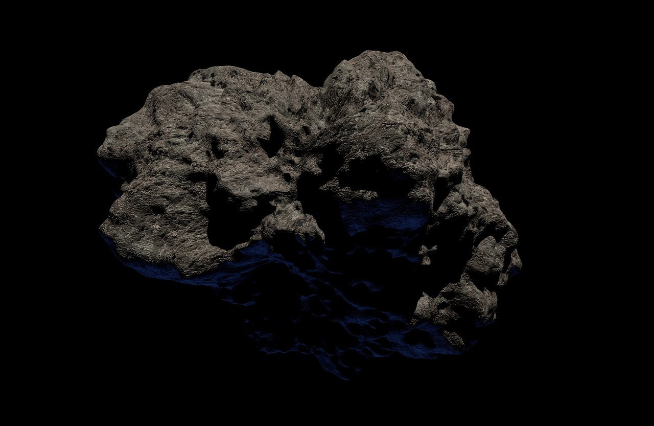 asteroid japonsko vesmirna agentura vypalili projektil nezartovali