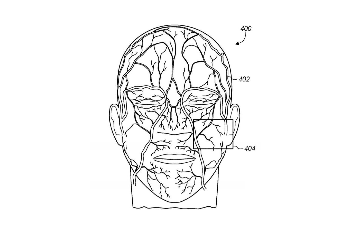 Náčrt z patentu Apple