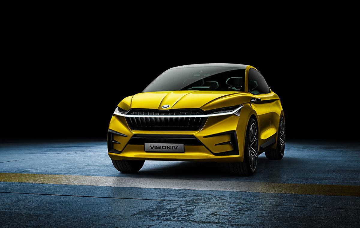 Elektromobil Škoda Vision iV