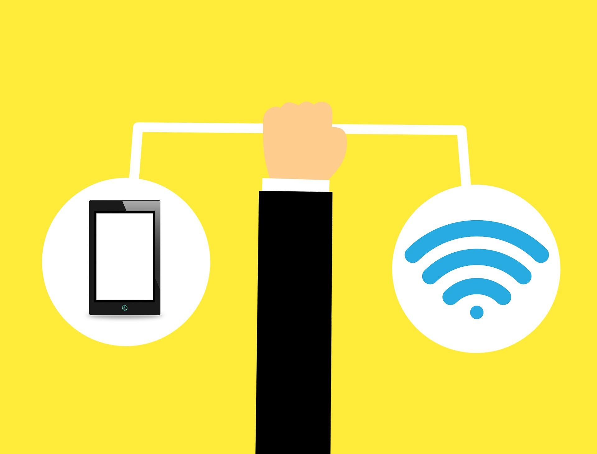 wi fi signal nabijanie smartfonov buducnost energie zariadenie