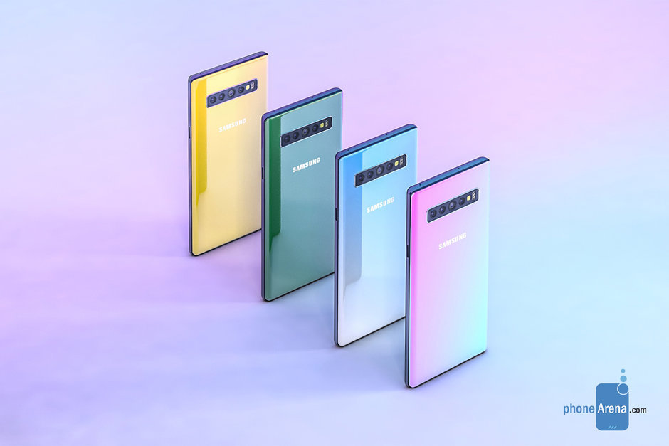 note 10 farby