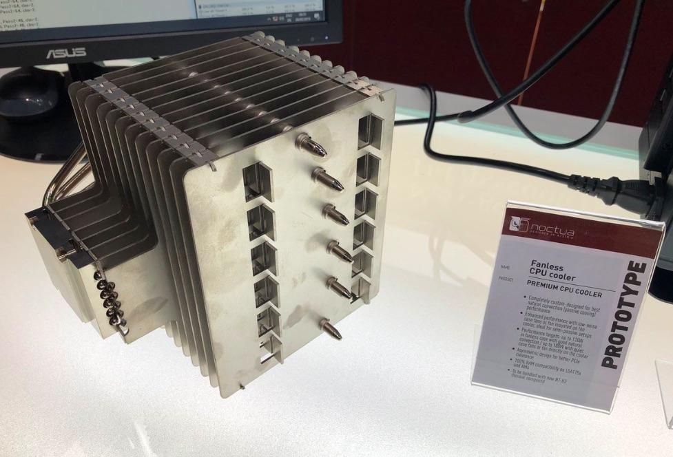 Pasívny CPU chladič od Noctua