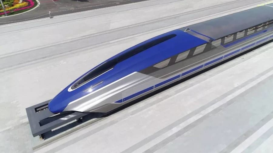 Nový maglev vlak