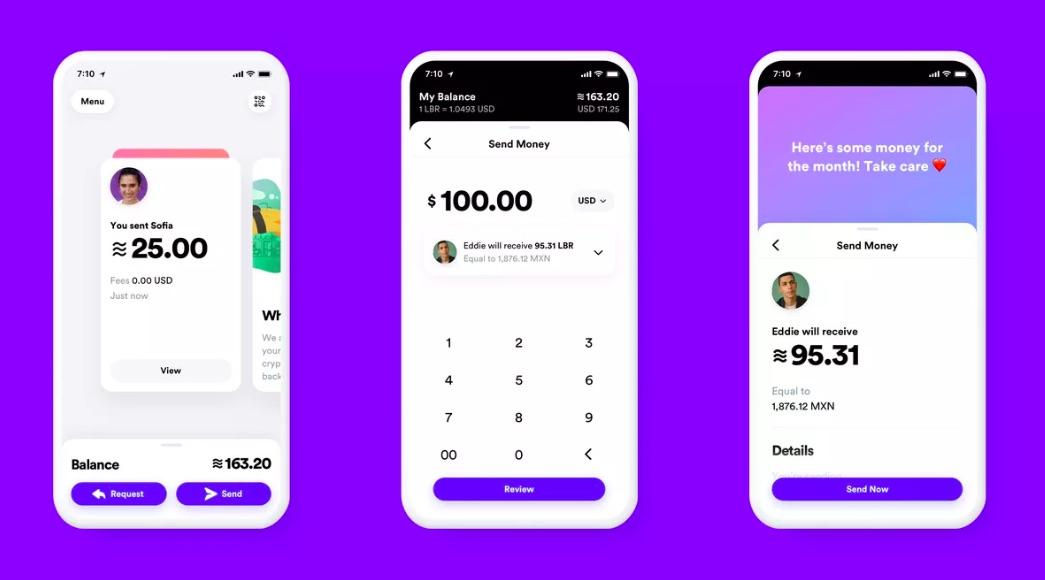 Nová mobilná aplikácia pre kryptomenu Libra