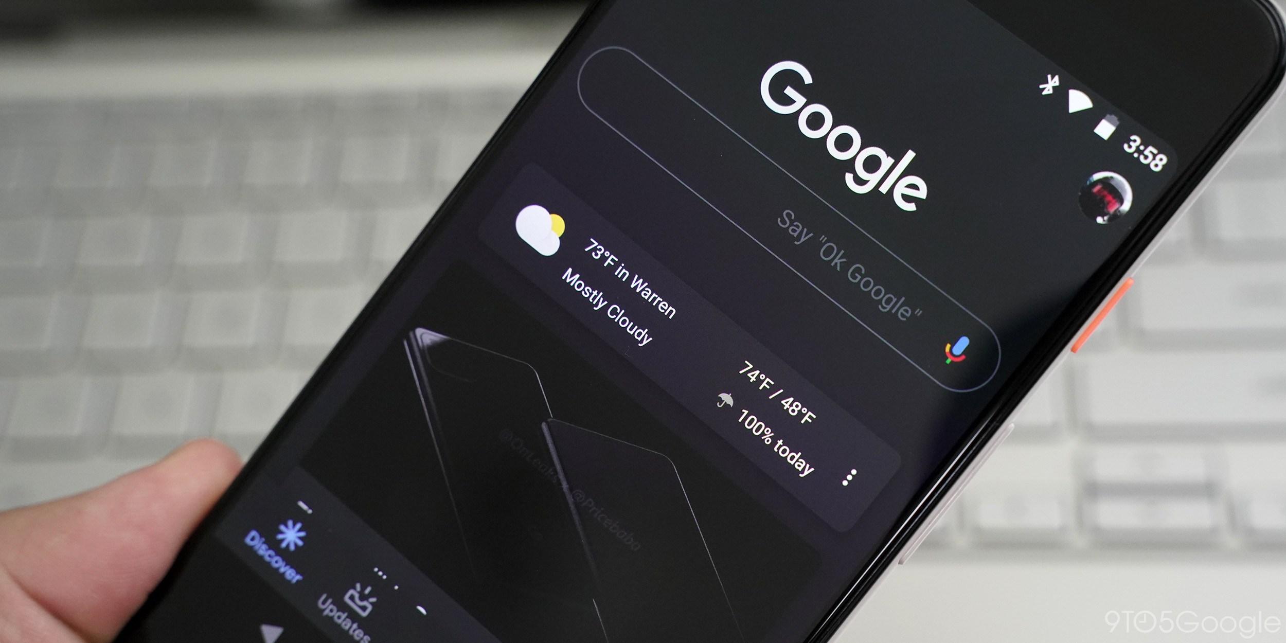 google tmavy rezim
