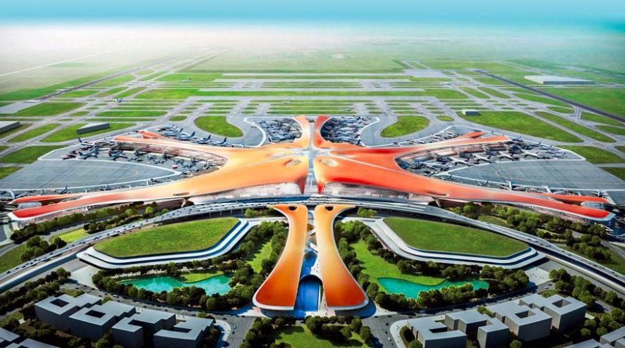 Nové letisko pri Pekingu