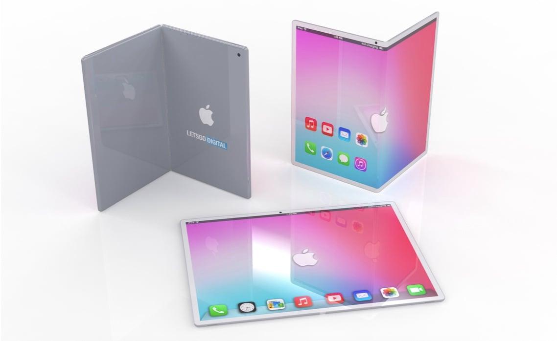 Koncept skladacieho iPadu