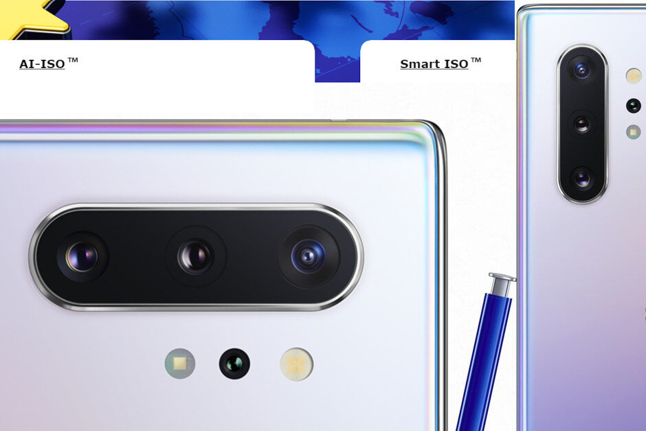 note 10 ai iso smart iso