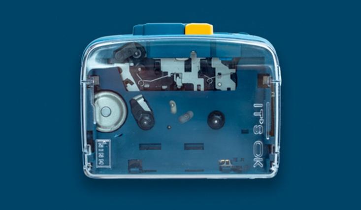 Kazetový prehrávač s Bluetooth