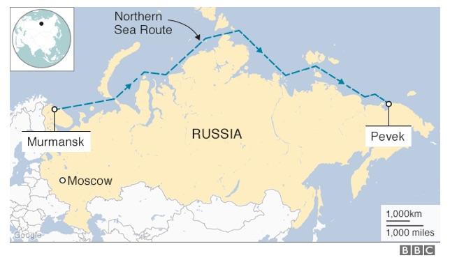 5 000 km dlhá trasa