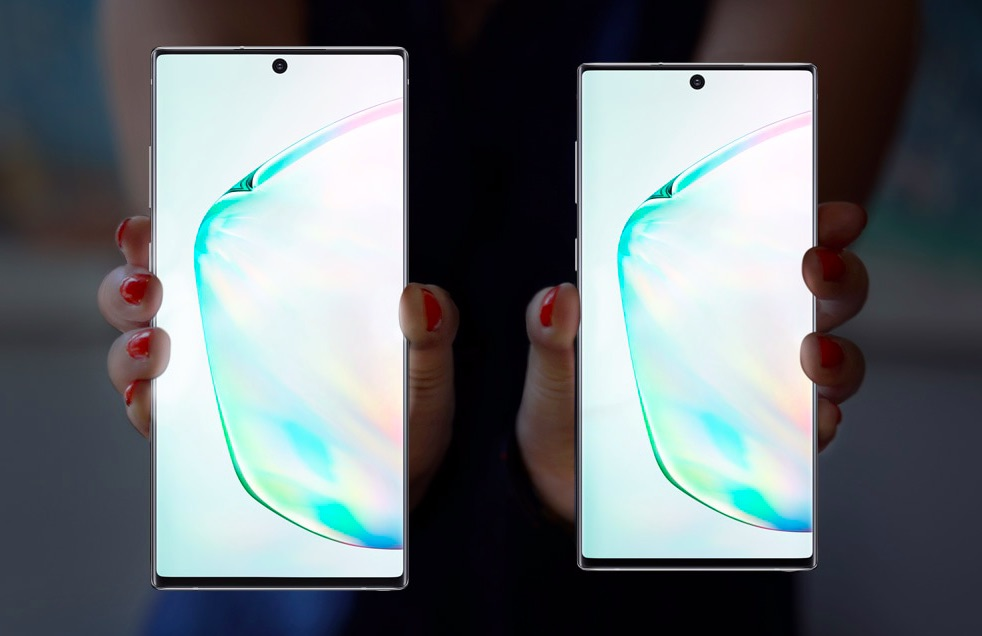 Galaxy Note 10+ a Note 10