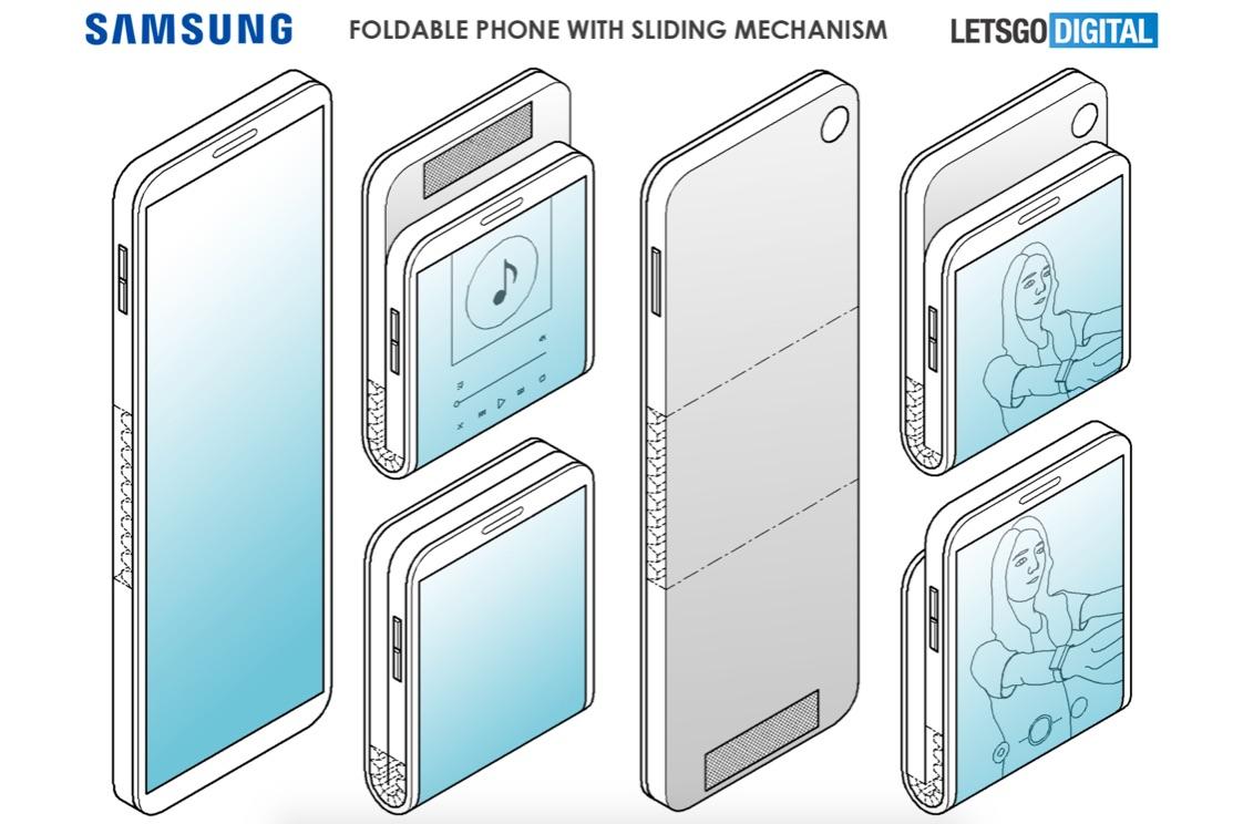 Možná podoba vyklápačky od spoločnosti Samsung