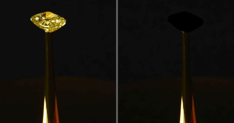 CNT materiál na diamante