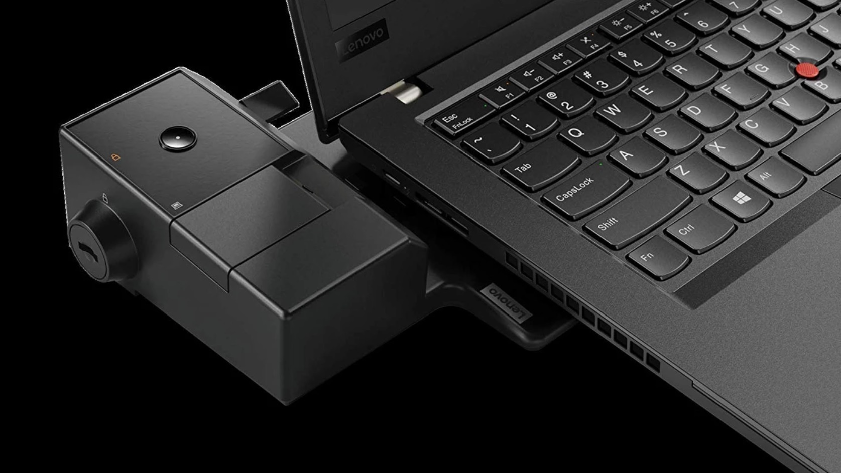 Takto vyzerá ThinkPad Ultra Docking Station