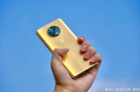 oneplus 7t zlaty