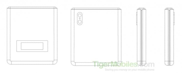 Náčrt z patentu Xiaomi
