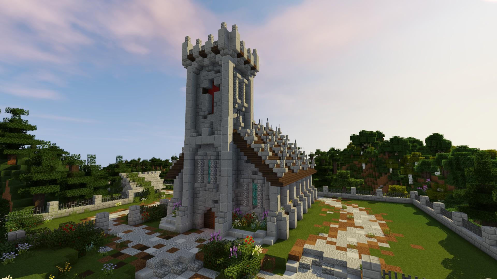 minecraft kostol