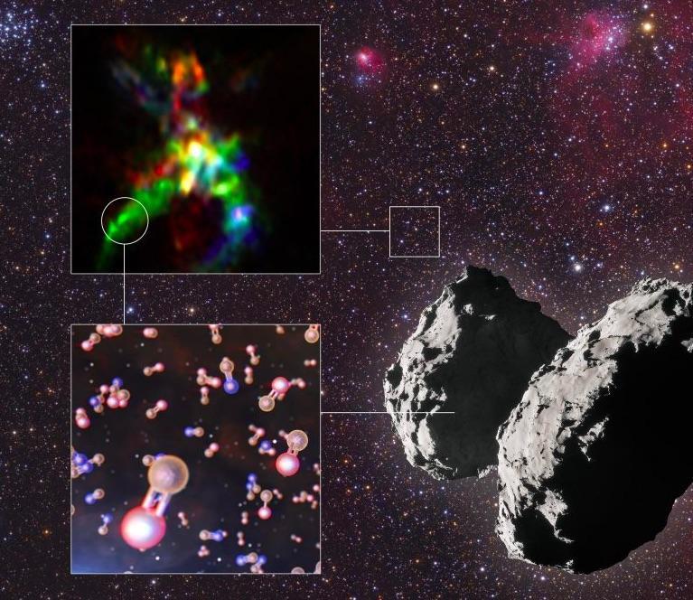 Putovanie fosforu naprieč vesmírom