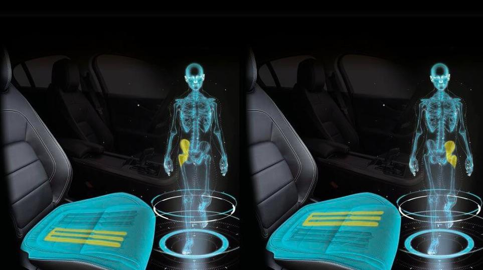 Sedadlo do auta, ktoré dokáže simulovať kráčanie