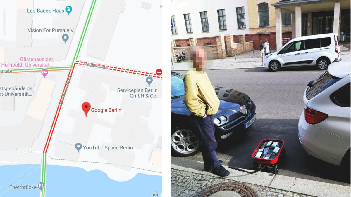 google mapy wecket telefony