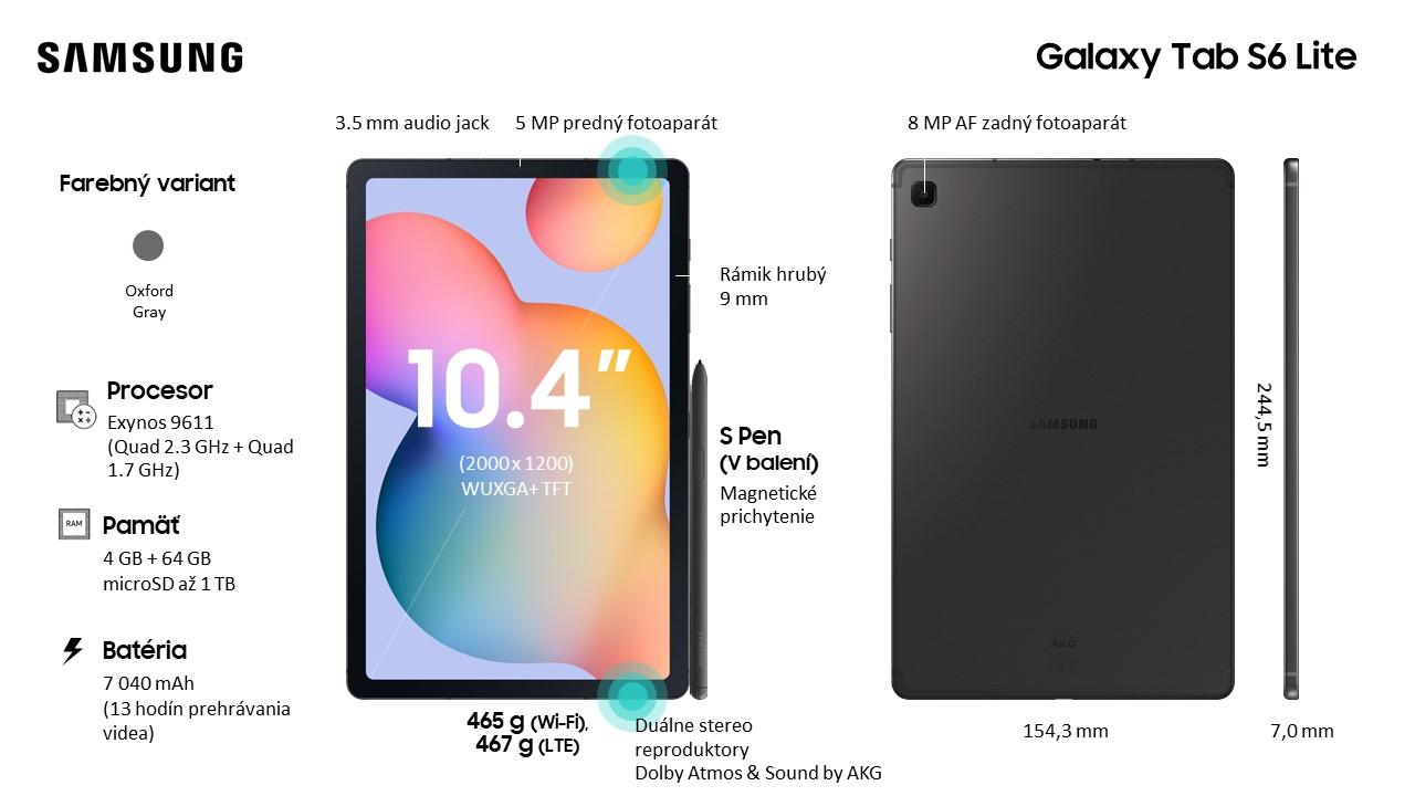 سامسونج Galaxy تابلت S6 Lite الرسمي: دعم مع قلم وشاشة كبيرة بحجم 10 بوصة وسعر جيد 1