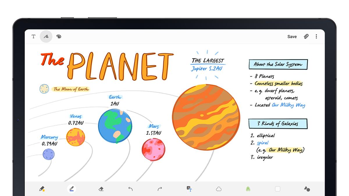 سامسونج Galaxy تابلت S6 Lite الرسمي: دعم مع قلم وشاشة كبيرة بحجم 10 بوصة وسعر جيد 3