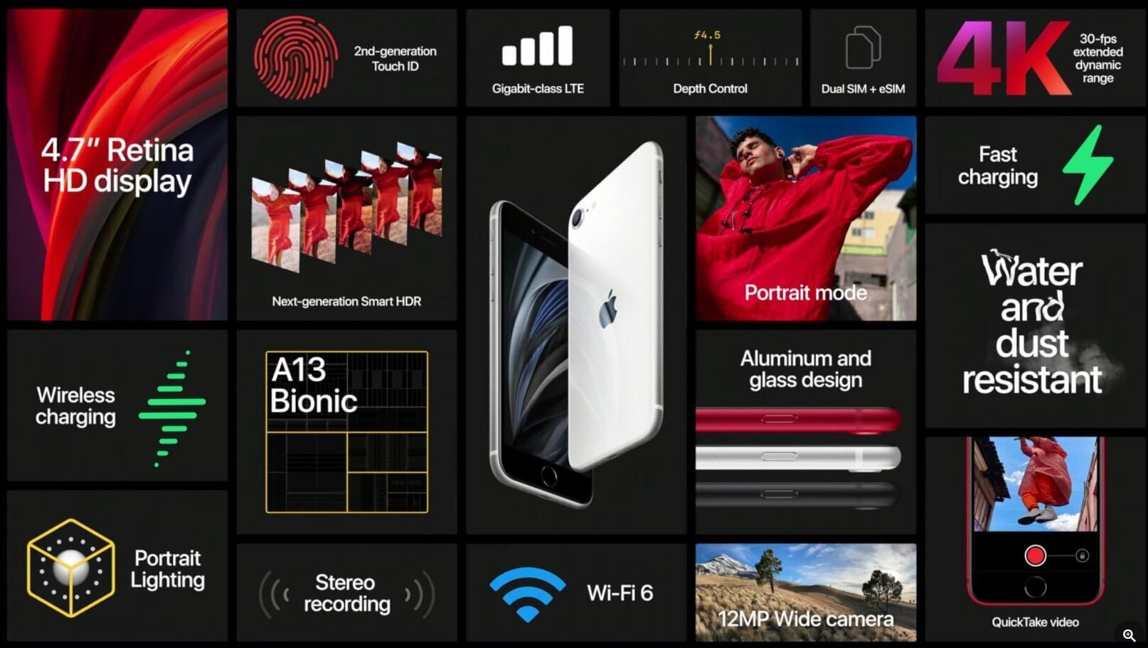 iPhone SE الجديد هنا! لديه قوة iPhone 11 ، ولكن يكلف 479 يورو فقط 3