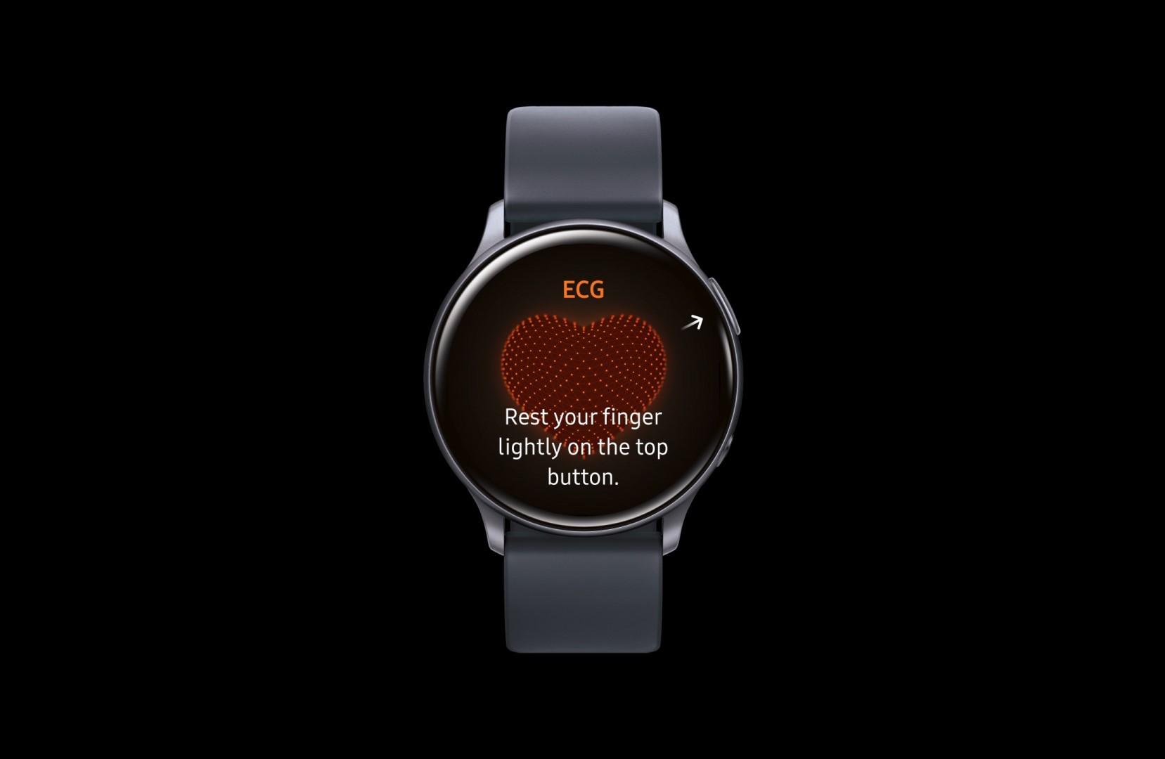 Galaxy Watch Active2 ekg tit