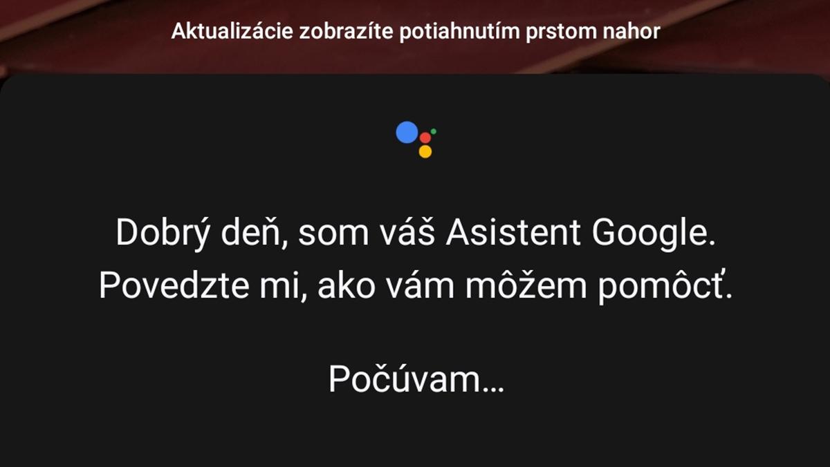 asistent google