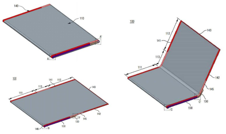 lg skladaci smartfon patent