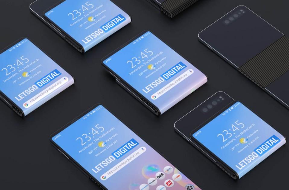 samsung skladaci smartfon patent 2