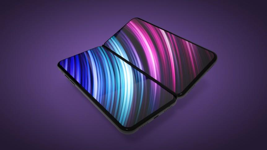 skladaci iphone koncept