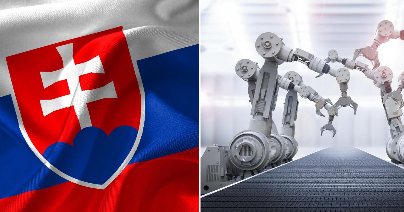 slovensko robotizacia