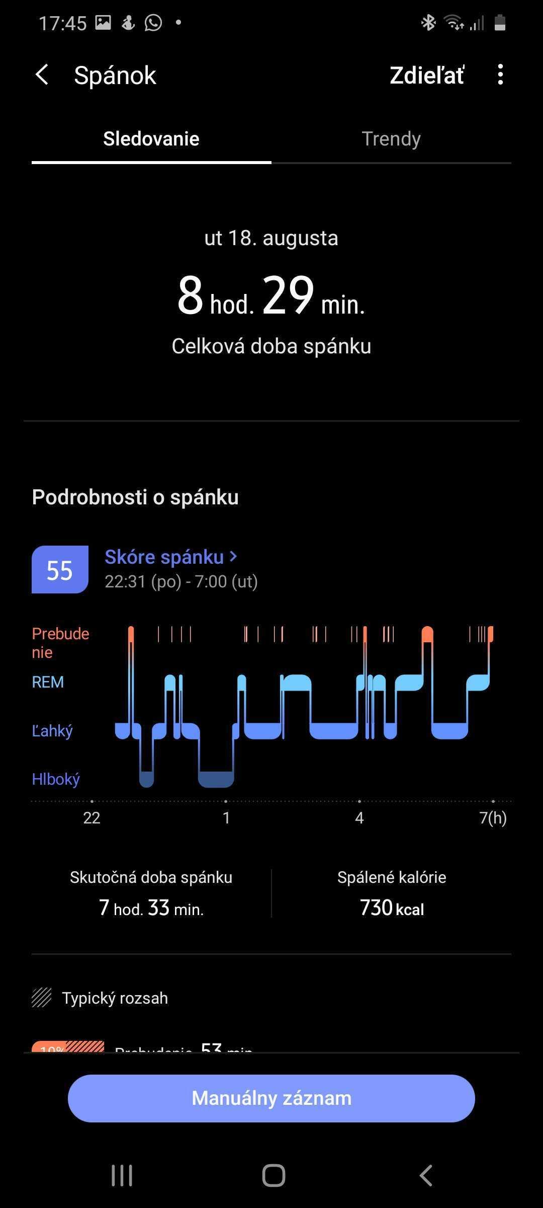 Screenshot 20200818 174556 Samsung Health