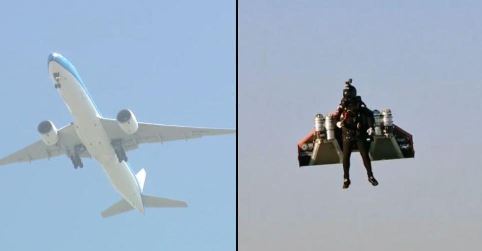 lietadlo jetpack